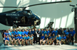 Young Marines pledge support to the Marine Corps Heritage Foundation and National Museum of the Marine Corps