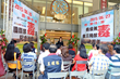 Guests of the International Day Against Drug Abuse and Illicit Trafficking conference at the Church of Scientology of Kaohsiung June 26, 2015, were welcomed to the program by the Church's executive director.