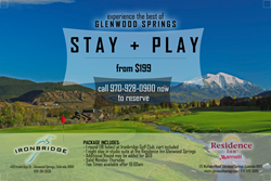 Information on Stay & Play Package for Residence Inn Glenwood.