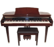 MDG-300 Brown Micro Grand Digital Piano Cabinet size: 2'-4""