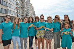 Young Truth About Drugs volunteers take their campaign to the coast to spread the word to tourists and local residents.