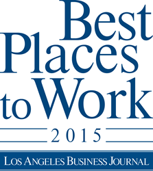 2015 Best Place to Work in Los Angeles