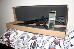 Pictured is a Smith & Wesson AR-15 that was recently given away by USGRA.