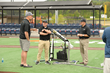 Hall of Famer John Smoltz Works On Continued Development of Shaw Sports Turf's TruHop Baseball System
