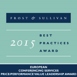 LoopUp Receives Frost & Sullivan Leadership Award for its Conferencing Solution