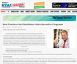 Incentive Solutions Shares Best Practices with Top HVAC Magazine
