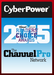 CyberPower Wins 2015 ChannelPro Readers' Choice Silver Award