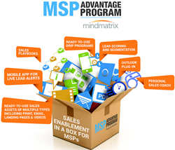 Under its MSP Advantage Program, Mindmatrix offers IT service providers all the tools they need to sell their services effectively.