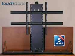 Highly rated for reliability and performance, Touchstone Whisper Lift II motorized TV lifts are backed by a 5 year warranty.