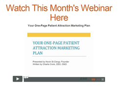 One-Page Audiology Marketing Plan