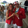 Carol Sollak and Eric Lamaze