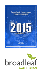 Broadleaf Commerce 2015 Best eCommerce Framework of Addison