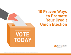 10 Proven Ways to Promote Your Credit Union Election