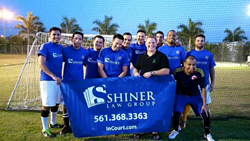 Shiner Law Group Soccer Team