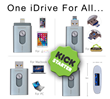 GeekBok.com™ Launches First Kickstarter for the iDrive, Bringing Peace to the Apple vs. Android War.