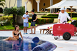Mexico's Coolest New Treat – Fruity Ice Pops Called Paletas in a Traditional Cart — Served Poolside
