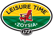 Picture of Leisure Time zoysia grass logo.
