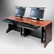 SMARTdesks flipIT Lift Desk, Featuring Motorless Monitor Mount: Multi-Use Workspaces Made to Order