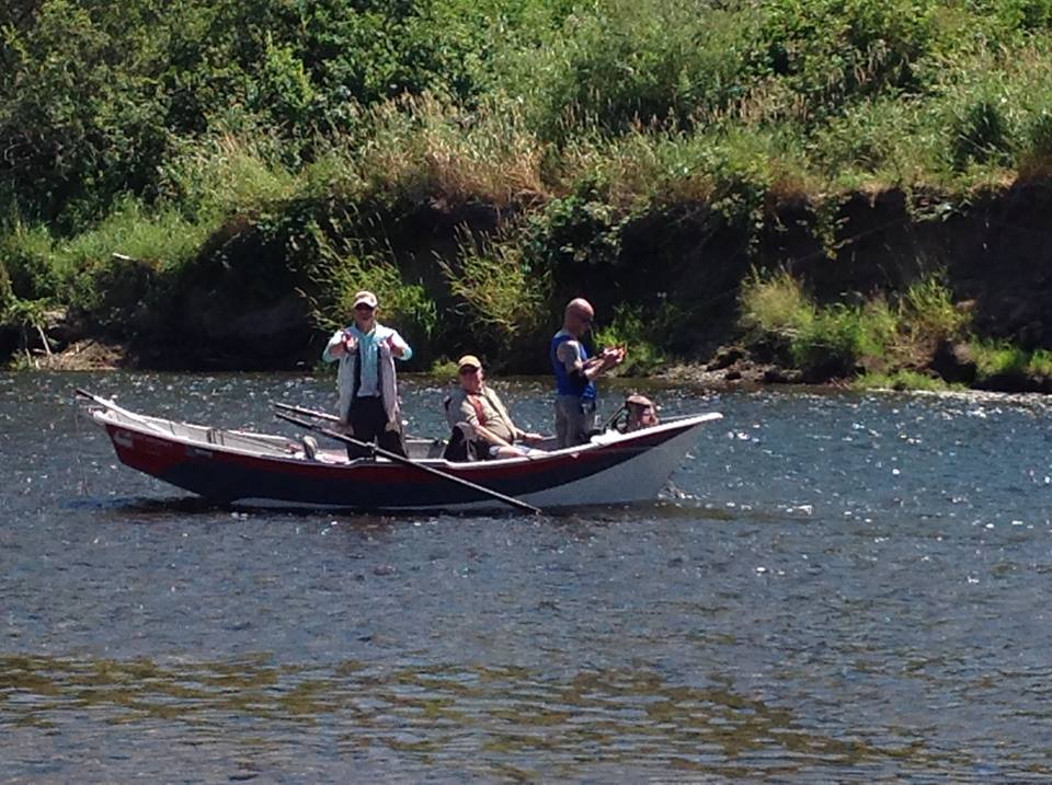 New river conservation program plans intensive clean up of for Kalama river fishing