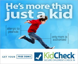 KidCheck Secure Children's Check-In System
