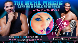 Celeb Stripper Keith Webb Gets Candid on Dr. Zoe Today