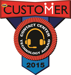 2015 CUSTOMER Contact Center Technology Award