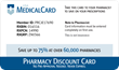 Free USA Medical Card Pharmacy Discount Card