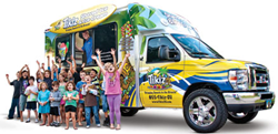 Tikiz Shaved Ice & Ice Cream, Mobile Franchise, Shaved Ice, Ice Cream, Tikiz