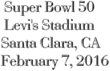 Cheap 2016 Super Bowl Tickets at Levi's Stadium: Ticket Down Slashes Ticket Prices on Super Bowl 50 Tickets in Santa Clara, CA at Levi's Stadium
