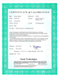 140520 Calibration Certificate