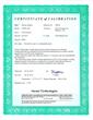 140520 Calibration Certificate