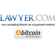 Lawyer.com is First Major Legal Services Company to Accept Bitcoin Payments
