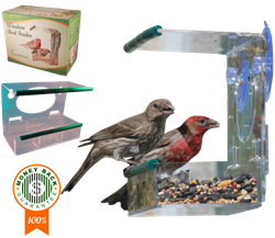 Sherwoodbase Window Bird Feeder