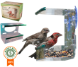 Sherwoodbase Window Bird Feeder Helps Birds in U.S. Drought-Stricken Areas and Provides Therapy for Alzheimer's Disease Patients