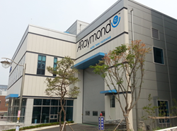 ARaymond's new plant in Korea, Asia