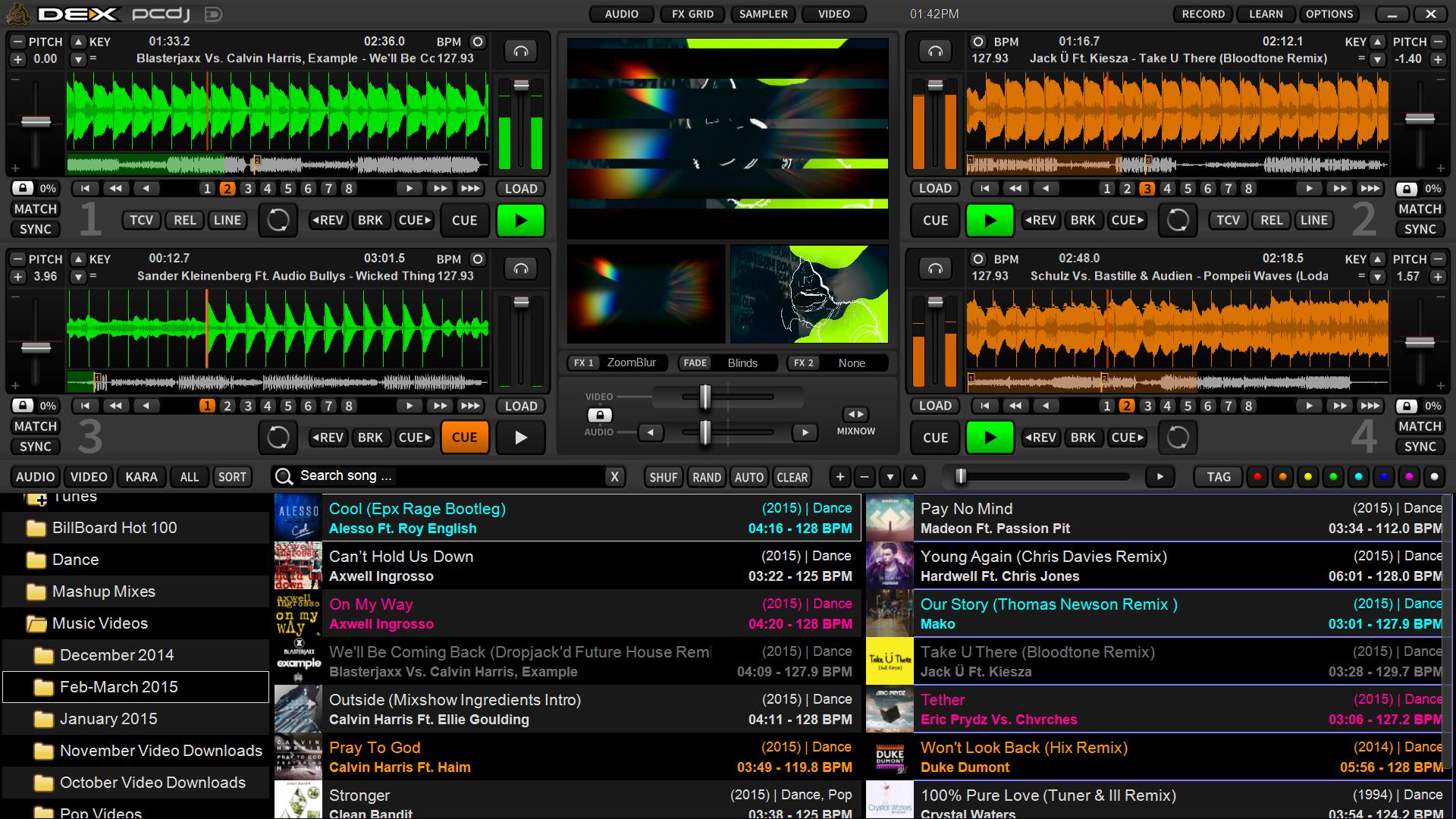 Virtual Mixer Software Dex Deckskin Video