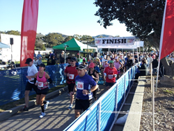 Finish Line from Elite Sports California Race