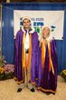 2014 Poultry Prince Tyler Amick and 2014 Poultry Princess Hayley Carlson at the 2014 Minnesota State Fair