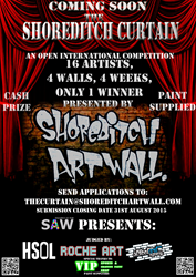 Shoreditch Art Wall Art Contest