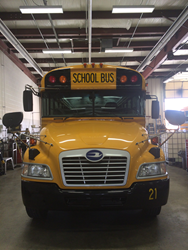 DeKalb Central United Schools, DeKalb County's largest school district, will replace 12-year-old diesel buses with new Blue Bird Propane Vision buses.