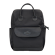 Balani Backpack—black coated taffeta