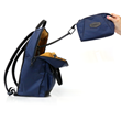 Balani Backpack with Etta Pouch tethered in