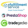 eFulfillment Service Integrates with PrestaShop & TradeGecko