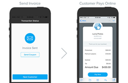 Mobile time cards + mobile payment processing