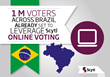 Scytl Brazil Continues an Upwards Trend in Successful Election Delivery