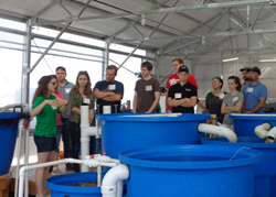 Classes take place in our 14,000 sq. ft. state-of-the-art aquaponics greenhouse