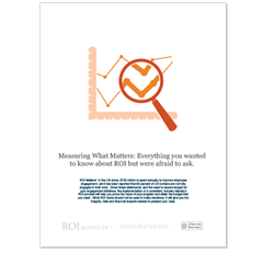 Perks Measuring What Matters eBook