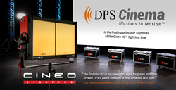 DPS Cinema Provides Cineo HS™ Lights For Advanced Green Screen Lighting on Marvel's Fantastic Four 2015