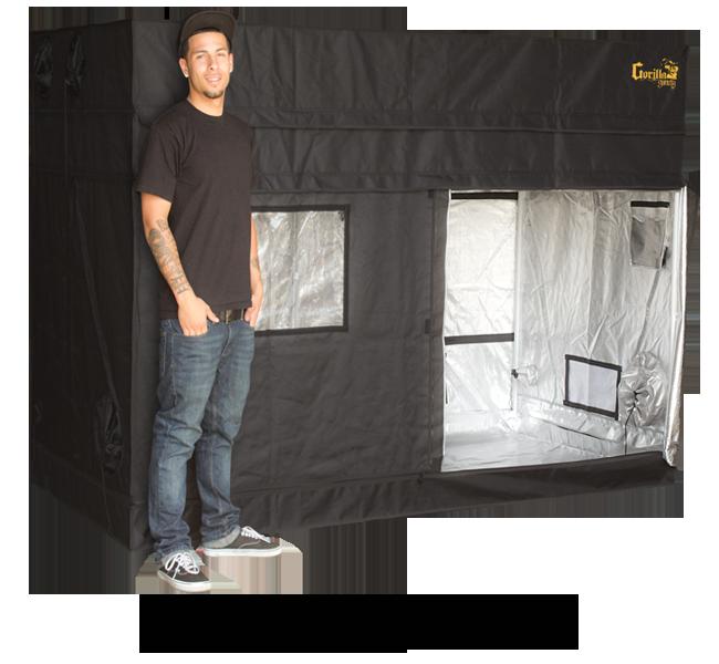 Best Grow Tent and Indoor Greenhouse Brand Gorilla Grow Tent