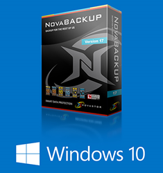 NovaBACKUP 17 with Windows 10 Support
